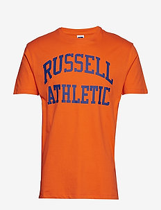 RU ICONIC S/S T-SH - korte mouwen - vibrant orange