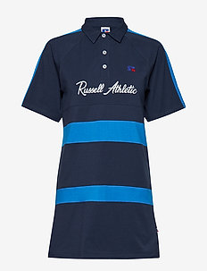 RU ABBY - POLO RUGBY DRESS - NAVY