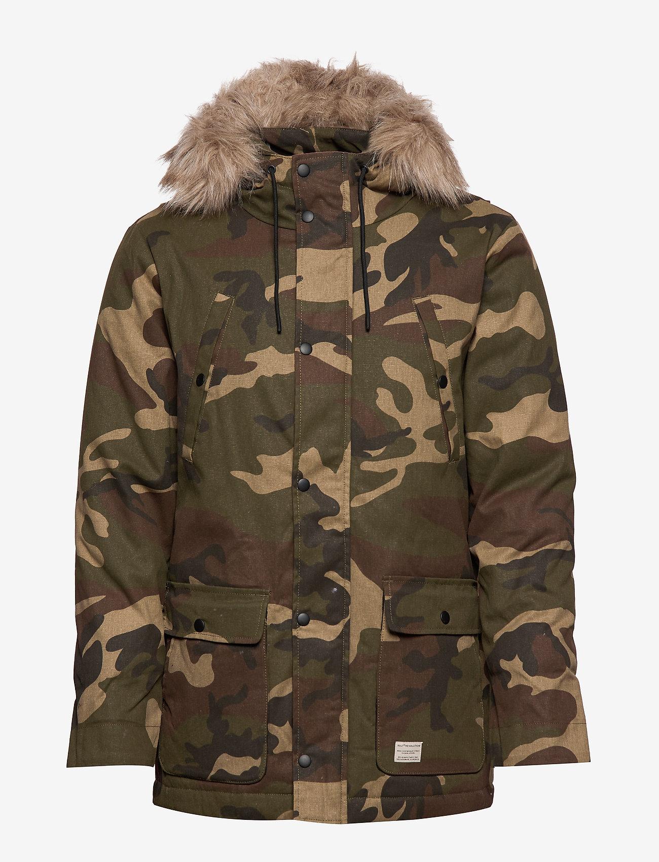 Parka Jacket (Camo) - RVLT Xb9tE1