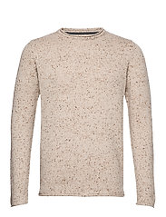 Knitted sweater - OFFWHITE
