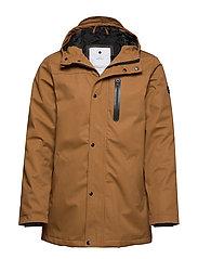 Parka jacket - BROWN