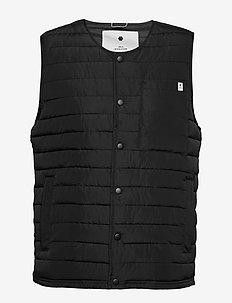 Puffer vest - vesten - black