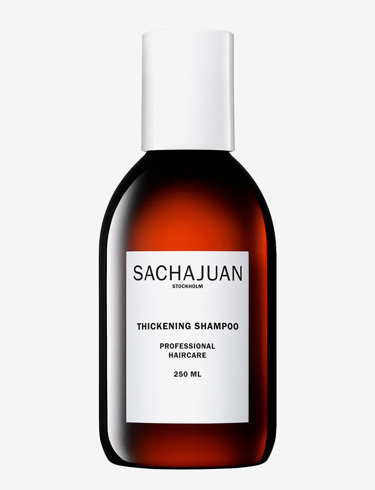 Sachajuan - SHAMPOO THICKENING - shampoo - clear - 0