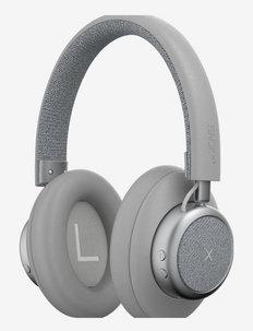 TOUCHit Over-ear Headphones - hodetelefoner - silver
