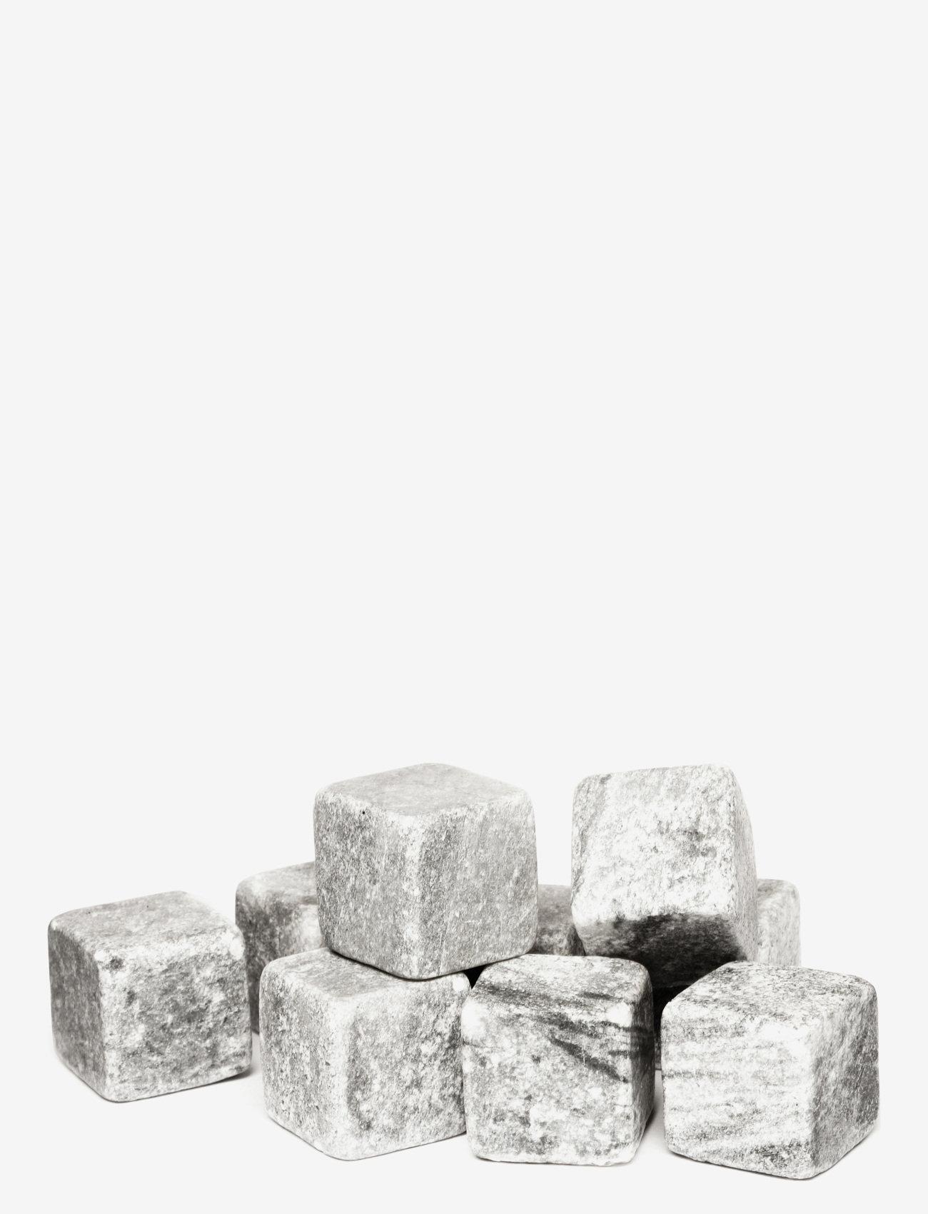 Sagaform - Club whiskey stones 9-pack - isbiter og isbrett - grey - 0