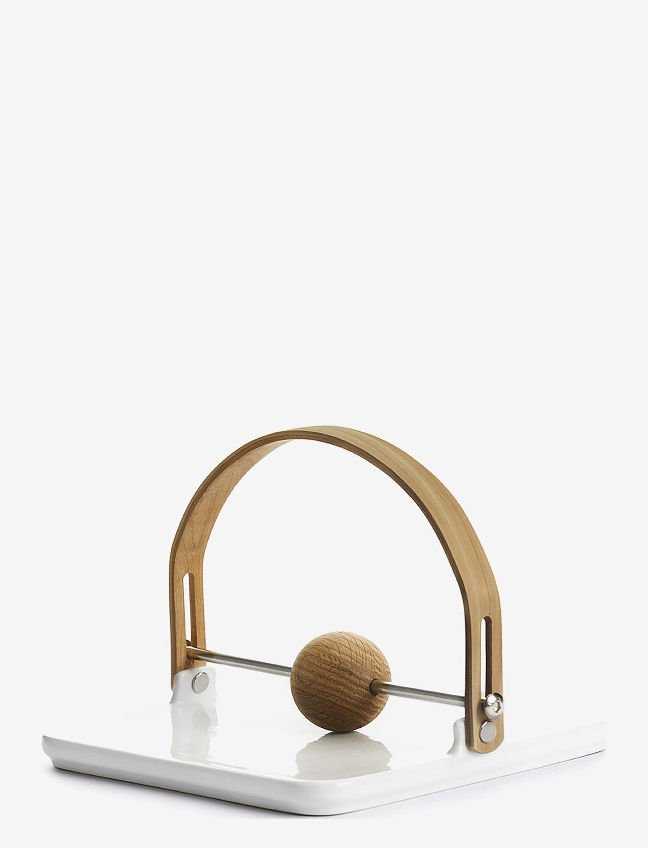 Sagaform - Nature Napkin holder - serviettringer & serviettholdere - white - 0