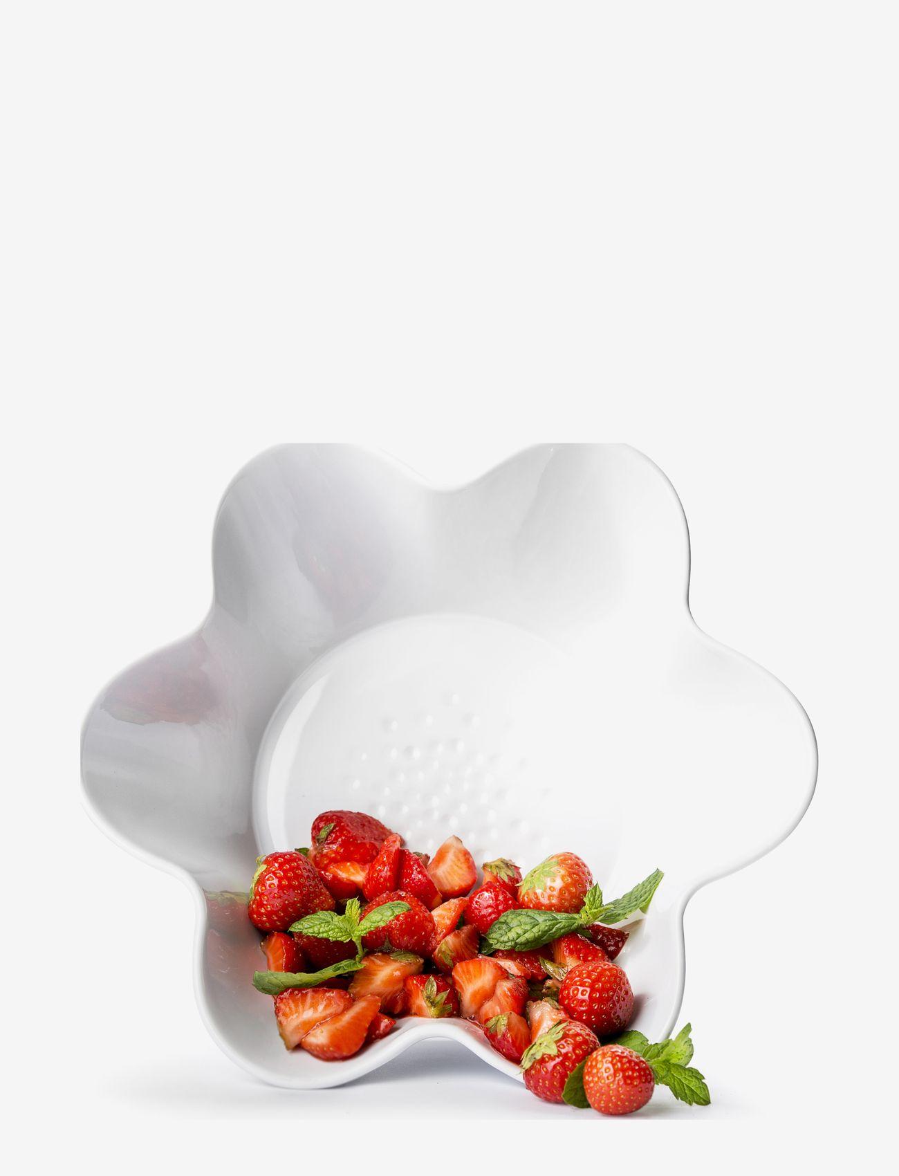 Sagaform - Piccadilly Servingbowl, - tarjoilukulhot - white - 0