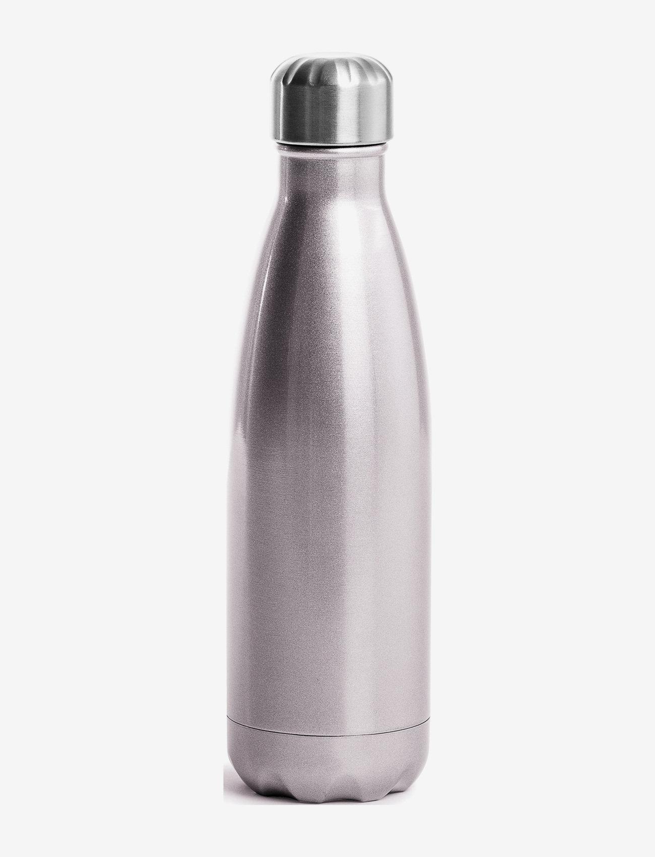 Sagaform - Steel bottle - vesi- ja lasipullot - pink - 0