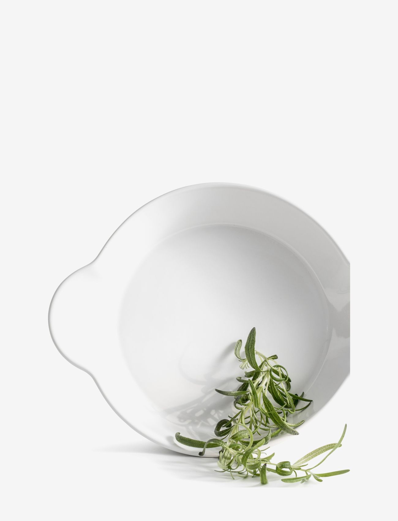 Sagaform - Piccadilly round dish - tarjoilukulhot - white - 0