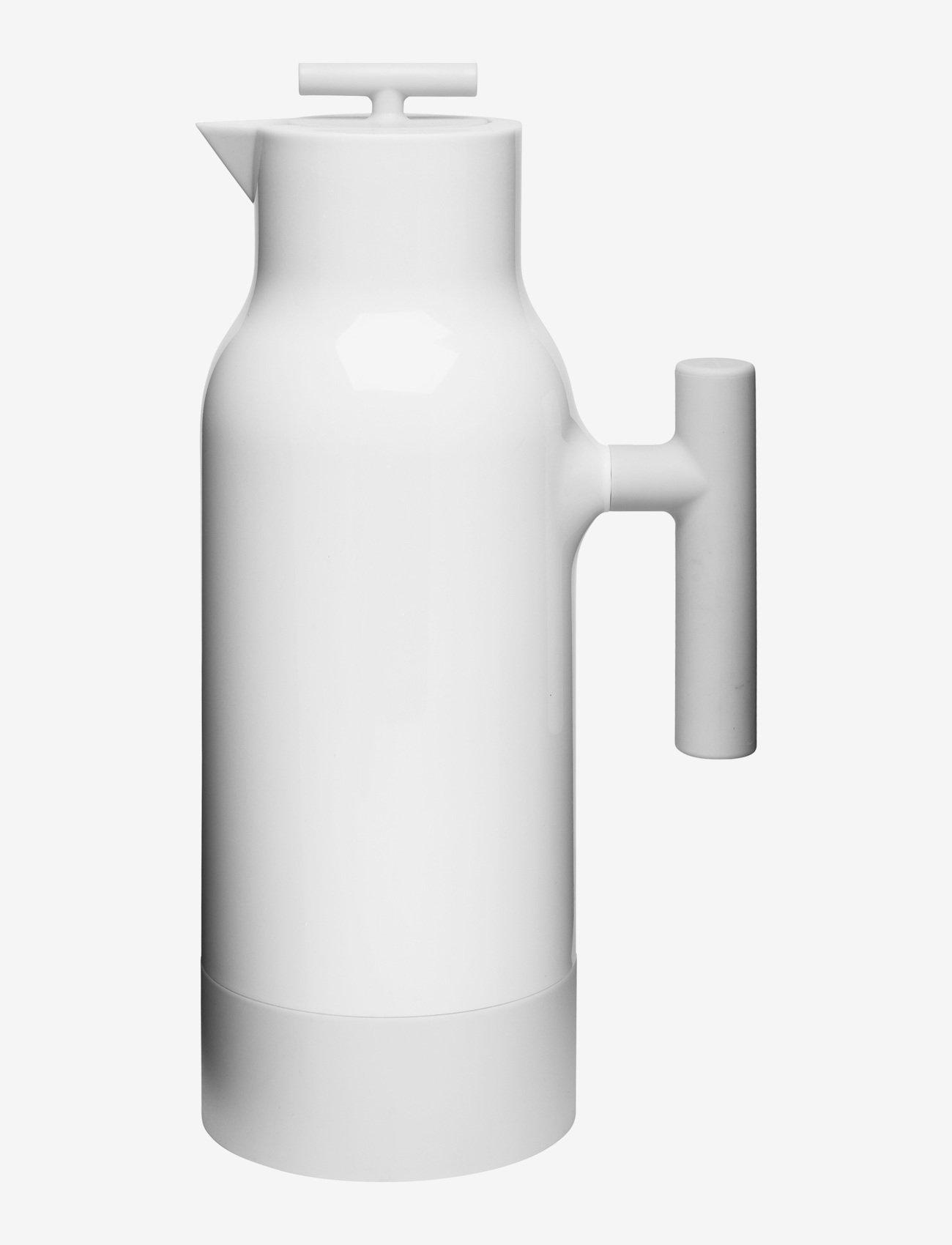 Sagaform - Accent coffeee pot white steelbottle - kannut & karahvit - white - 0