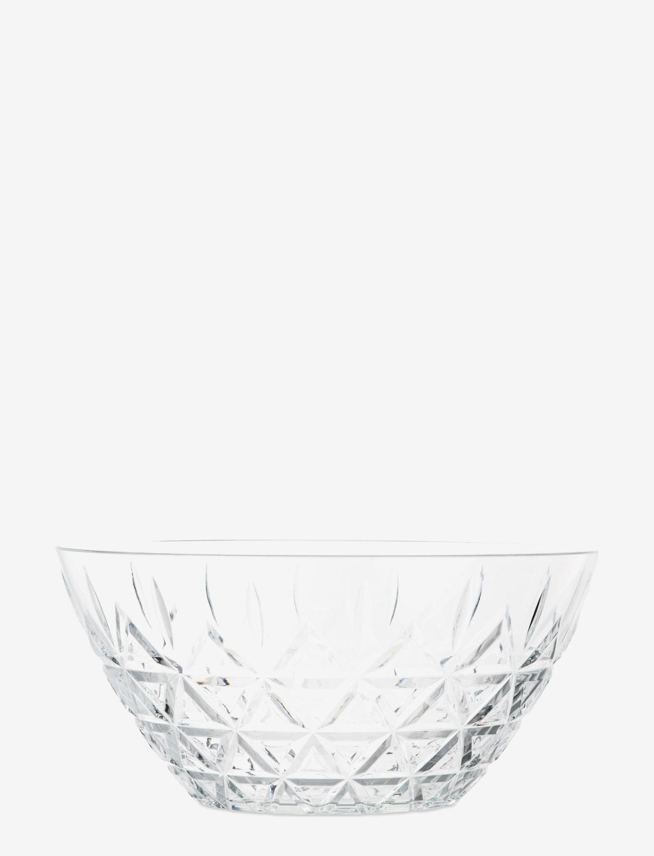 Sagaform - Picknick bowl, big - tarjoilukulhot - clear - 1