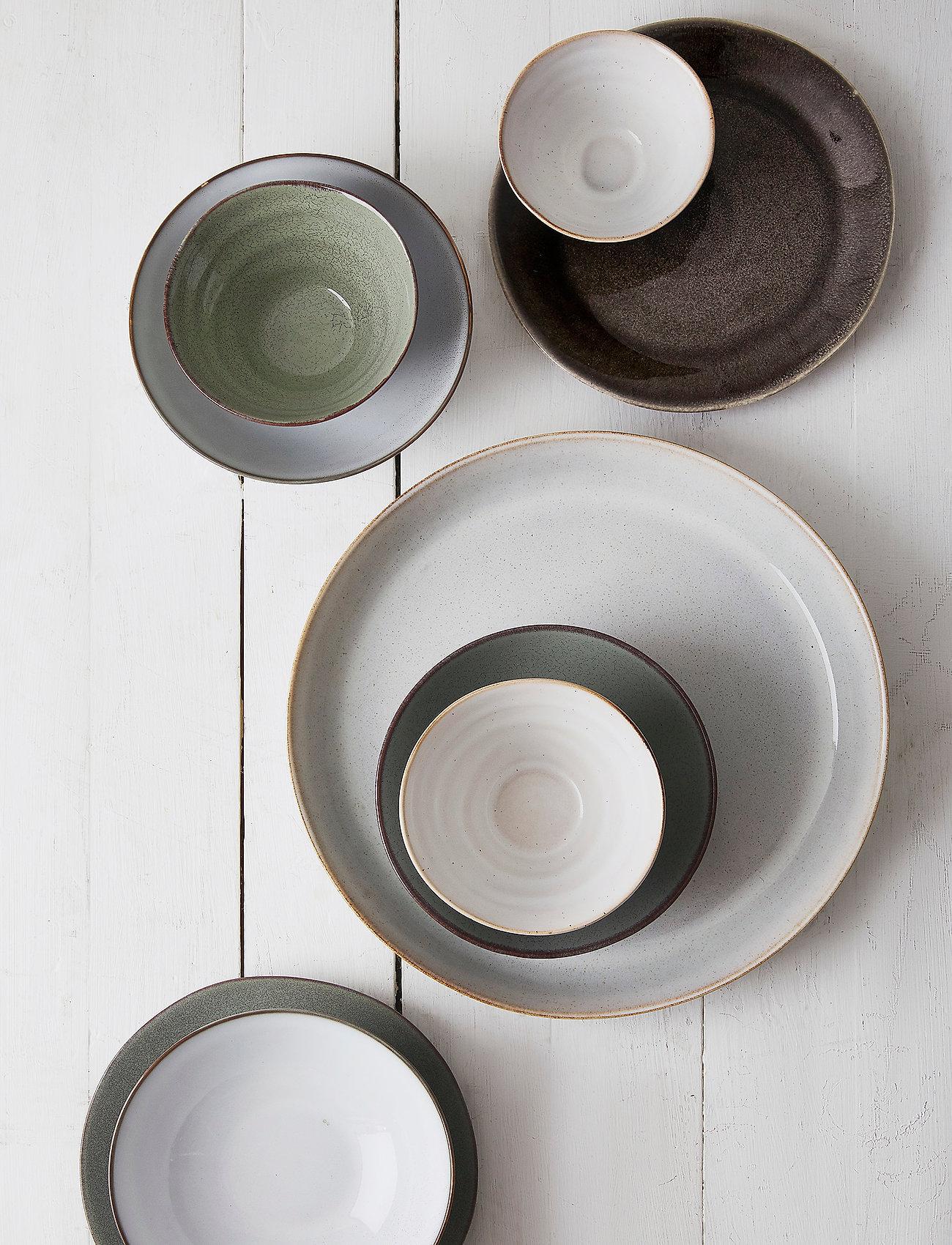 Sagaform - Serving plate - serveringsfat - grey - 1