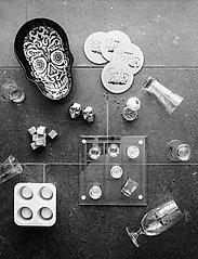 Sagaform - Club whiskey stones 9-pack - isbiter og isbrett - grey - 1
