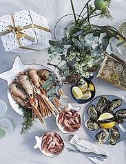 Sagaform - Seafood set, 4-pack - bestikksett sjømat - silver - 0