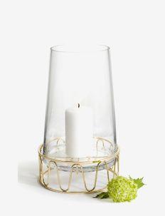 Giftset Lantern with pillar candle - utendørsbelysning - multi