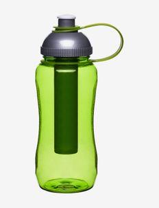 Fresh bottle with ice piston - vesi- ja lasipullot - green