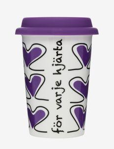 Take away mug Valentine - termokopper - multi
