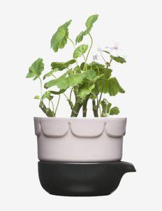 Green 2-part cultivation pot - blomsterpotter & krukker - pink