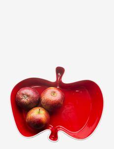 Apple serving bowl - fruktskåler - red