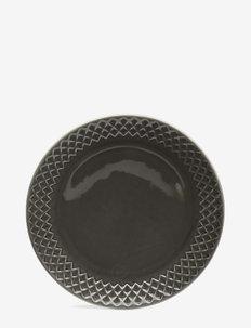 Coffee & More, side plate - asjetter - grey
