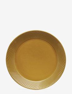 Coffee & More, side plate - asjetter - yellow