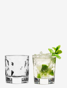 Bar tumbler small, 2-pack - vannglass - clear