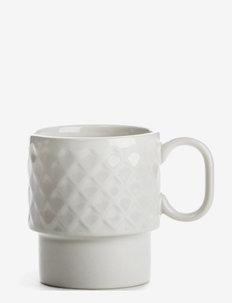 Coffee & More , Coffee mug - kaffekopper - white
