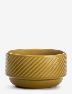 COFFEE & MORE, Bowl - serveringsskåler - yellow