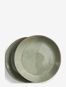 Nature Serving plate 2-pack - asietter - grey