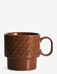 Coffee & More , tea mug - tekopper - terrakotta