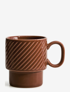 Coffee & More , Coffee mug - kaffekopper - terrakotta