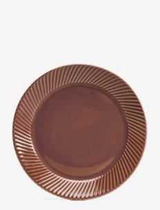 Coffee & More, side plate - asjetter - terrakotta