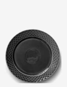 Coffee & More plate 27 cm - middagstallerkener - grey