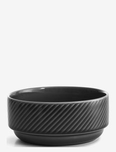 Coffee & More deep bowl Grey - fruktskåler - clear