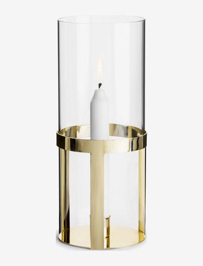 Hold lantern medium - kynttilänjalat - gold