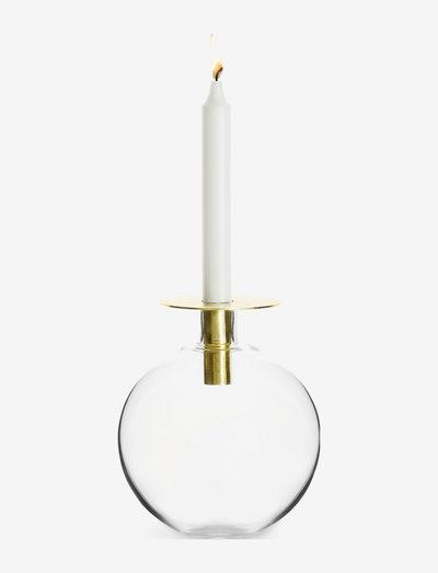 Top vase medium, gold - kynttilänjalat - gold