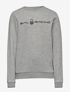JR BOWMAN SWEATER - sweatshirts - grey mel