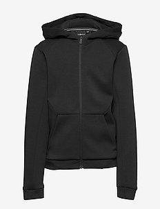 JR TECH ZIP HOOD - hoodies - carbon