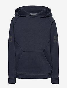 JR TECH HOOD - hoodies - navy