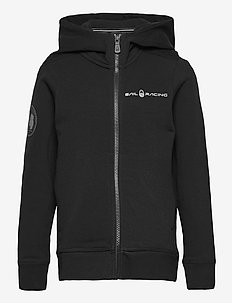 JR ANTARCTICA ZIP HOOD - hoodies - carbon