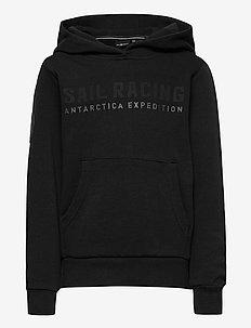 JR ANTARCTICA HOOD - hoodies - carbon