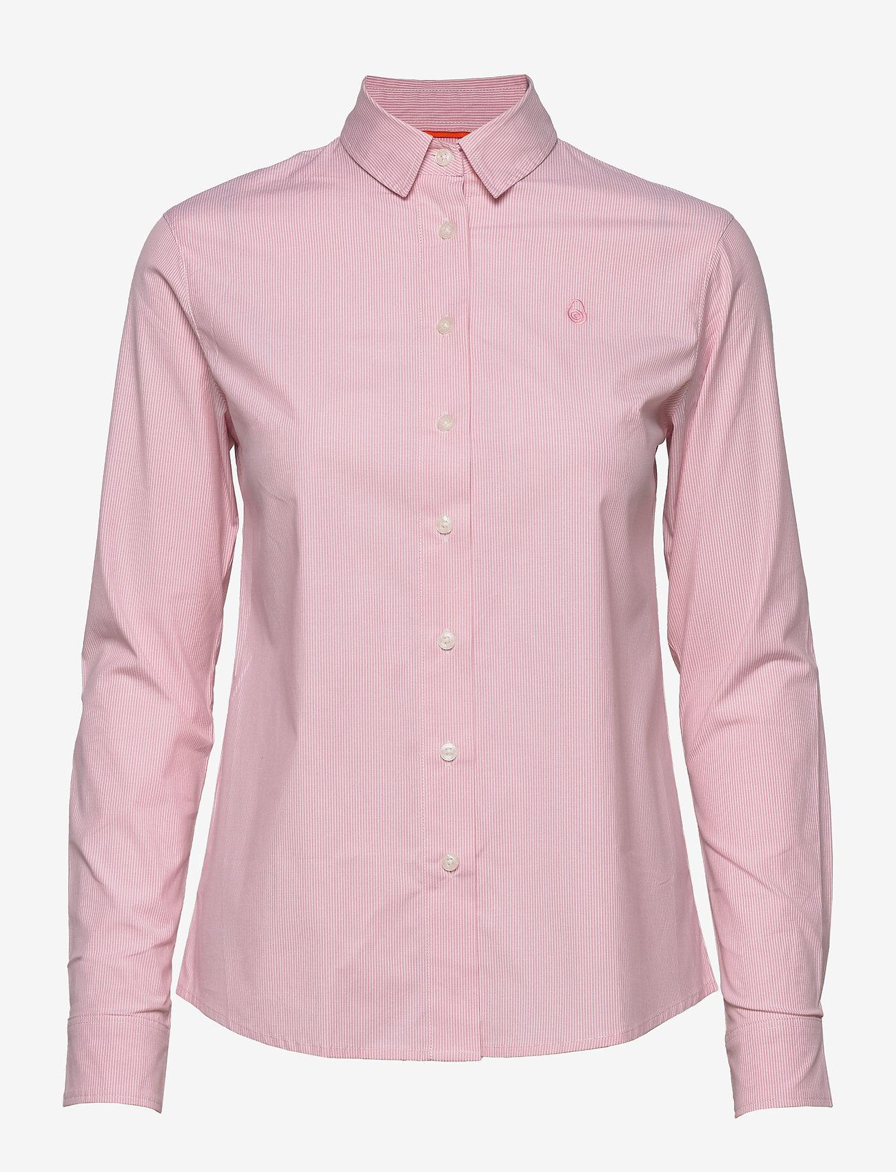 Sail Racing - W GALE STRIPED SHIRT - long-sleeved shirts - light pink - 0