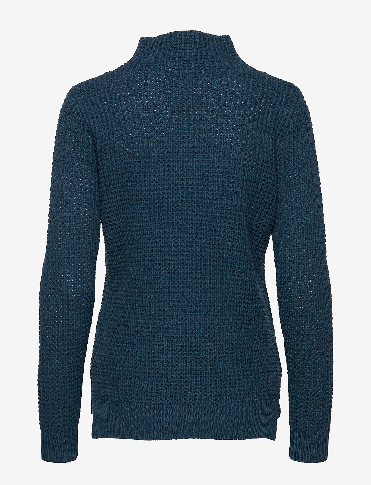 Sail Racing - W RACE WAFFLE KNIT POLO - jumpers - dark teal - 1
