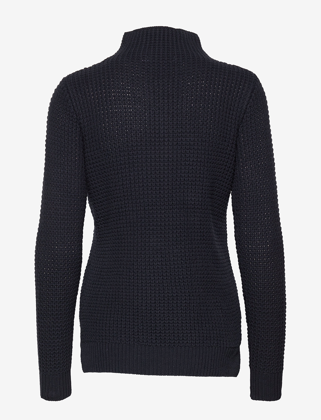 Sail Racing - W RACE WAFFLE KNIT POLO - jumpers - navy - 1