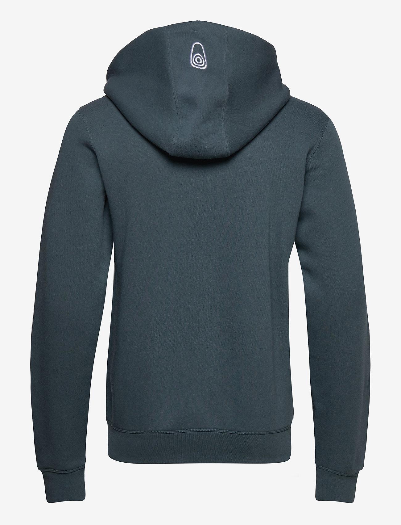 Sail Racing - BOWMAN ZIP HOOD - hoodies - dark steel - 1