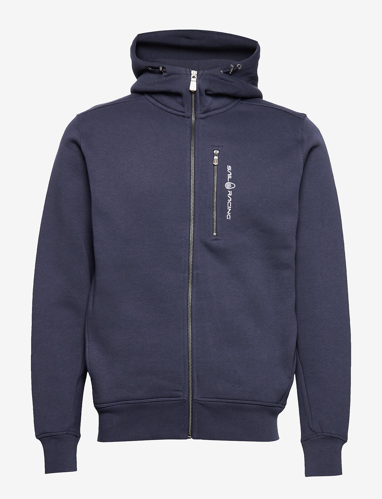 Sail Racing - BOWMAN ZIP HOOD - hoodies - navy - 0