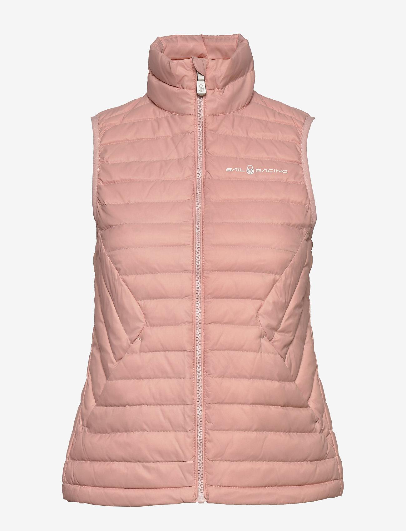 Sail Racing - W LINK DOWN VEST - puffer vests - dusky pink - 1