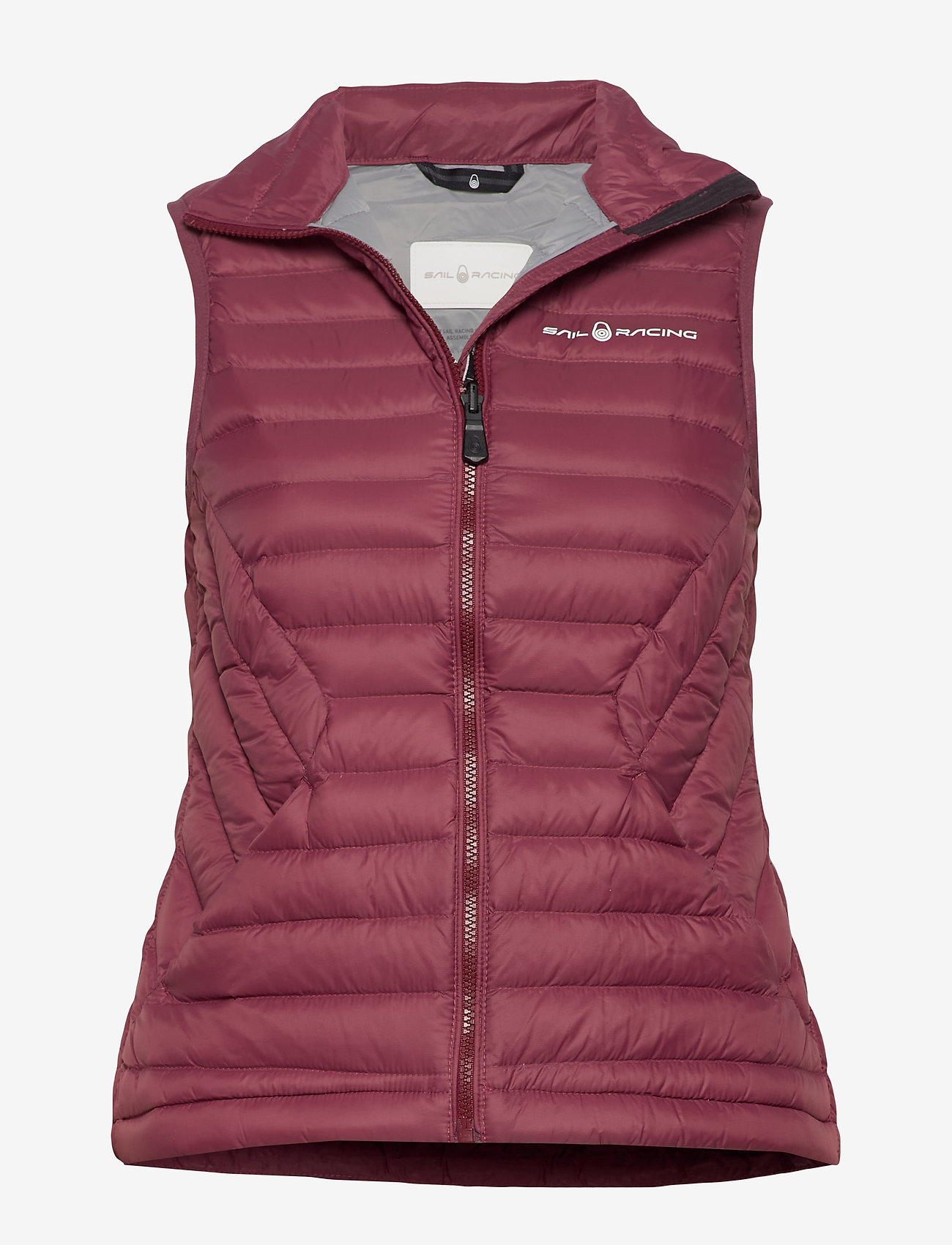 Sail Racing - W LINK DOWN VEST - puffer vests - maroon - 0