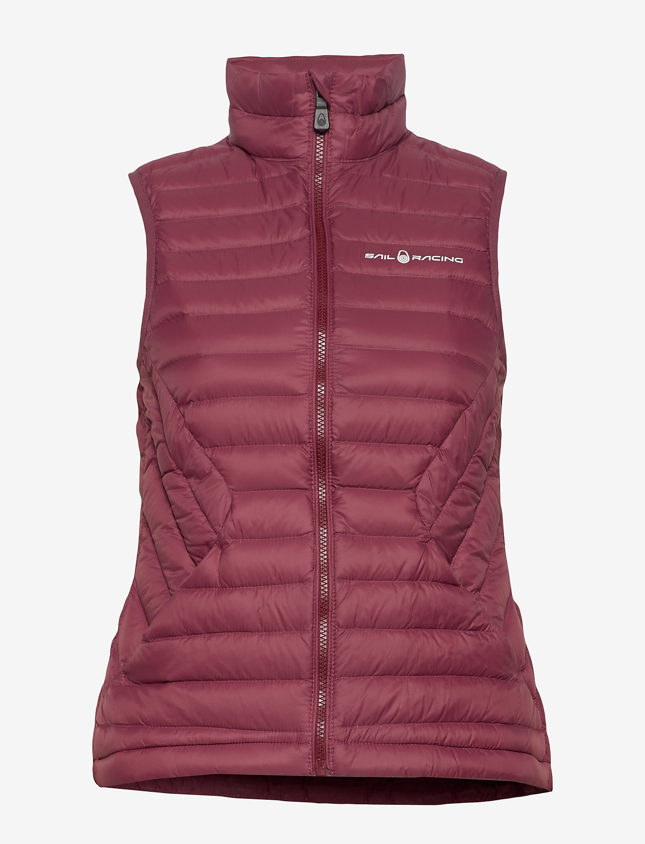 Sail Racing - W LINK DOWN VEST - puffer vests - maroon - 1