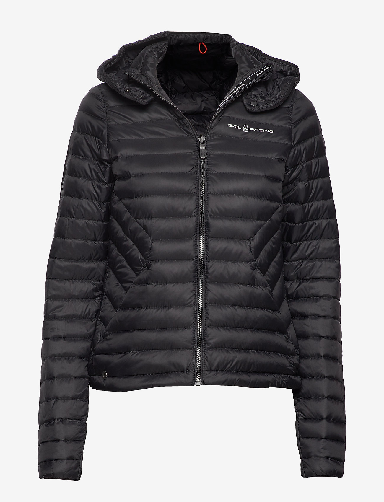 Sail Racing - W LINK DOWN JACKET - sports jackets - carbon - 0